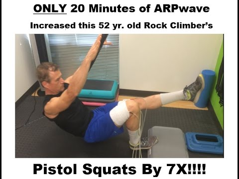 Neuro Sports Performance and Rehab - Rock Climber Uses ARPwave
